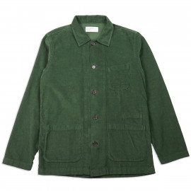 Овершот Universal Works Bakers Overshirt Fine Cord Green