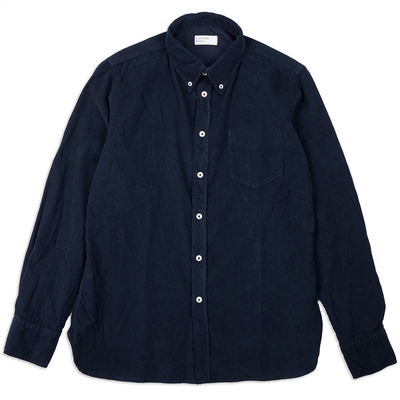 Рубашка Universal Works Everyday Shirt Super Fine Cord Navy
