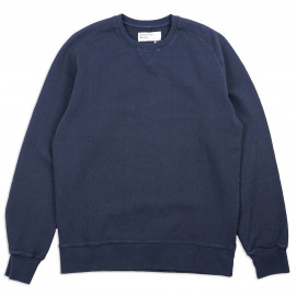 Толстовка Universal Works Classic Crew Sweatshirt Dry Handle Loopback Navy