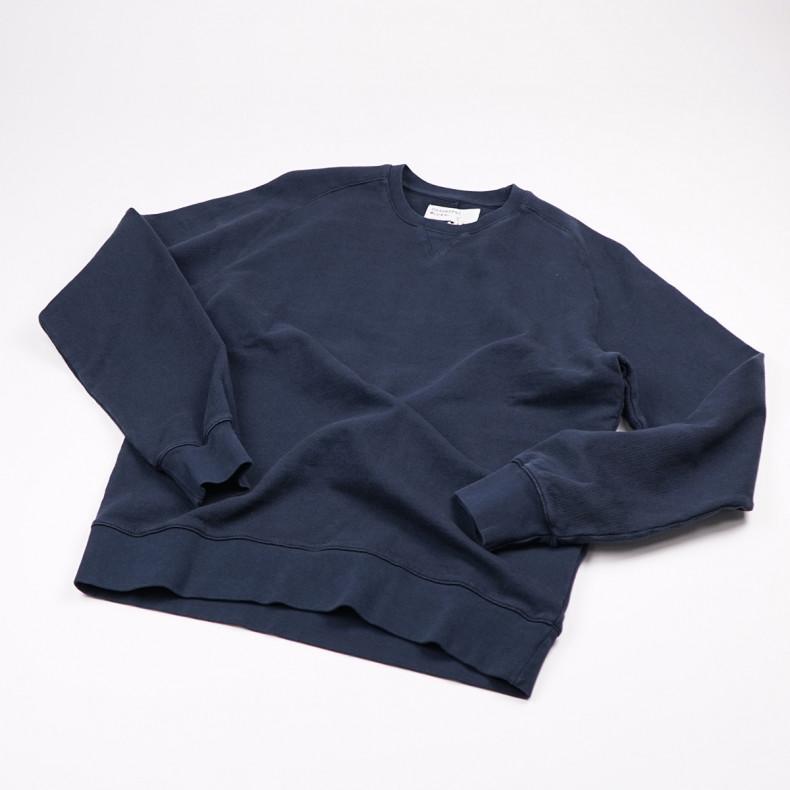 Толстовка Universal Works Classic Crew Sweatshirt Dry Handle Loopback Navy