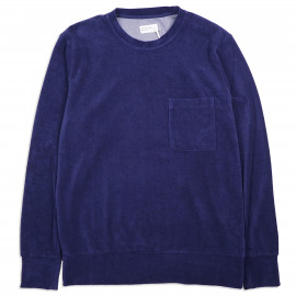 Толстовка Universal Works Loose Pullover Terry Fleece Navy