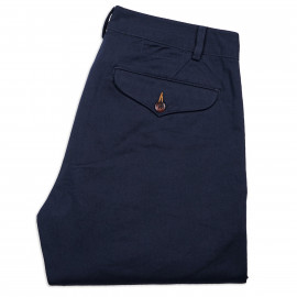 Брюки Universal Works Aston Pant Twill Chino Navy