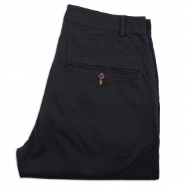 Брюки Universal Works Twill Military Relax Chino Black
