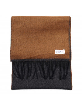Шарф Universal Works Double Sided Scarf Cumin/Charcoal