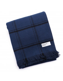 Шарф Universal Works Mid length scarf 23196 Navy Check