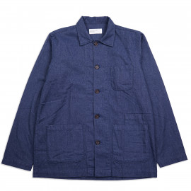 Овершот Universal Works Bakers Overshirt 23676 Brushed Cotton Blue