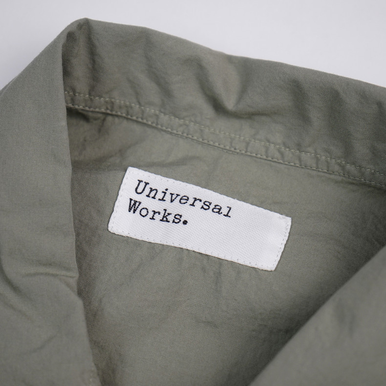 Овершот Universal Works Poplin Bakers Overshirt Laurel