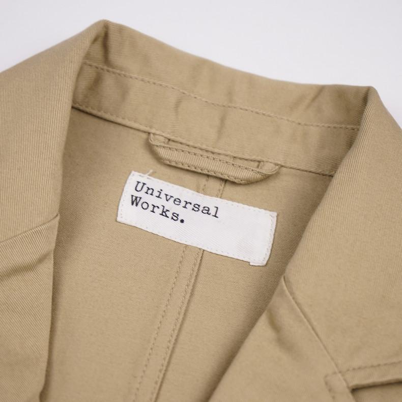 Пиджак Universal Works Twill London Jacket Sand
