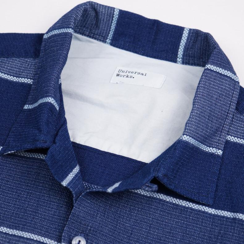 Рубашка Universal Works Desert Blanket Garage Shirt Indigo