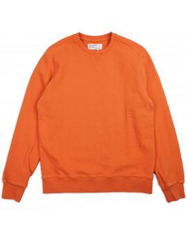 Толстовка Universal Works Dry Handle Loopback Classic Crew Sweatshirt Orange