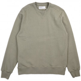 Толстовка Universal Works Dry Handle Loopback Classic Crew Sweatshirt Laurel