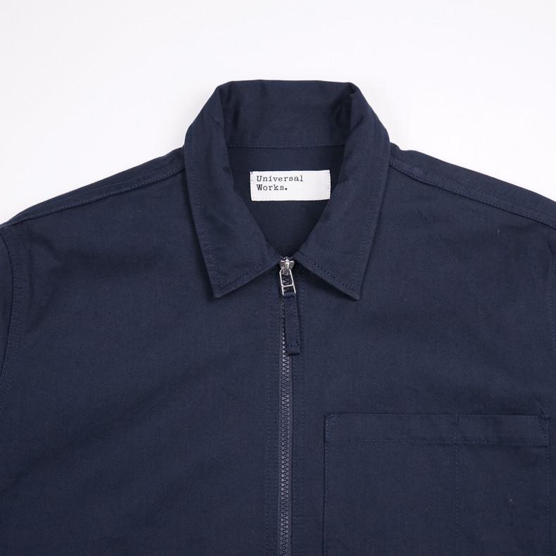 Куртка Universal Works Zip Uniform Jacket Twill Navy