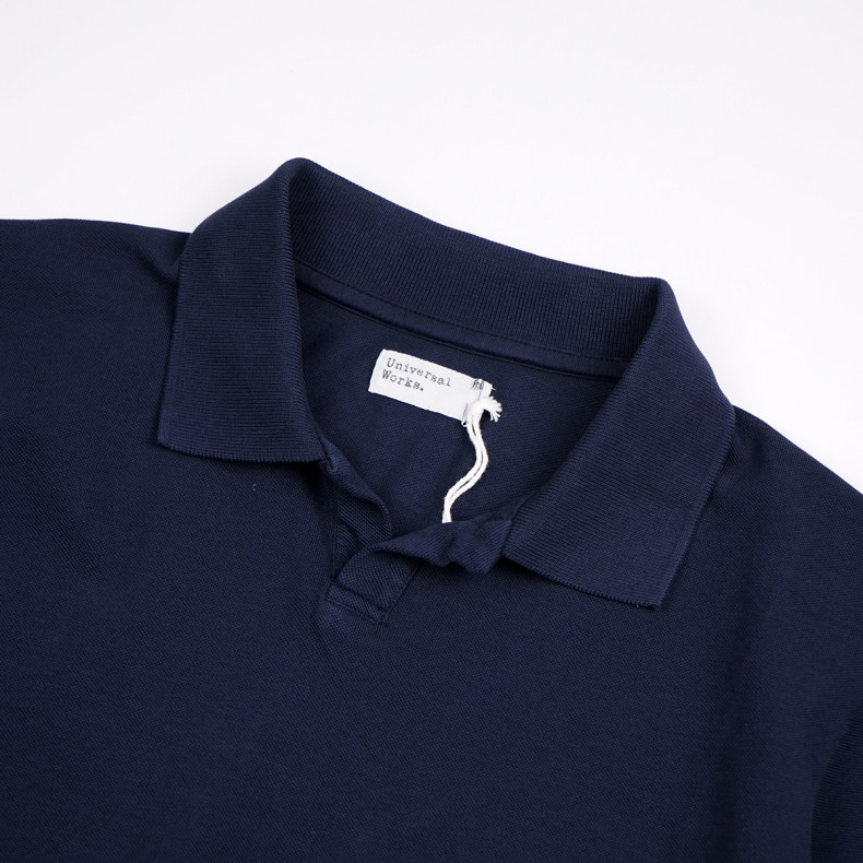 Поло Universal Works Pique Vacation Polo Navy