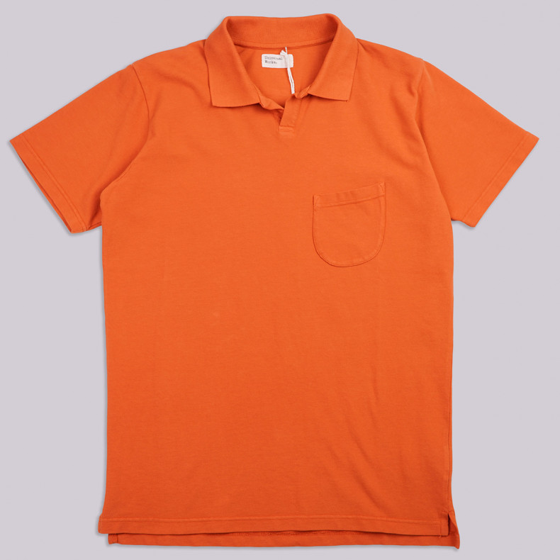 Поло Universal Works Pique Vacation Polo Orange