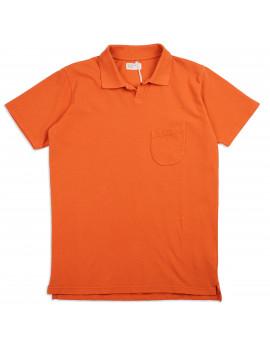 Поло Universal Works Pique Vacation Polo Orange