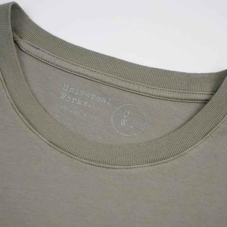 Футболка Universal Works Boxer Print Jersey Organic Tee Laurel