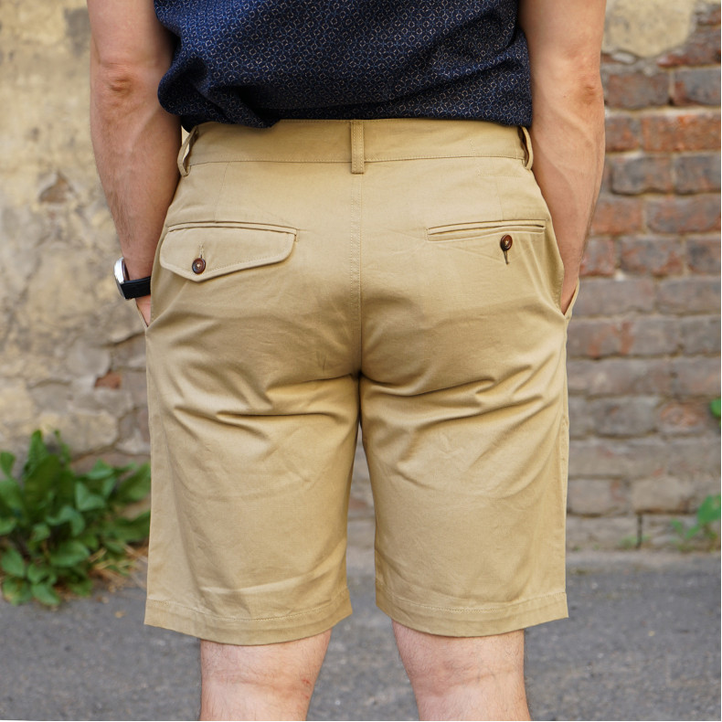 Шорты Universal Works Deck Short Twill Tan