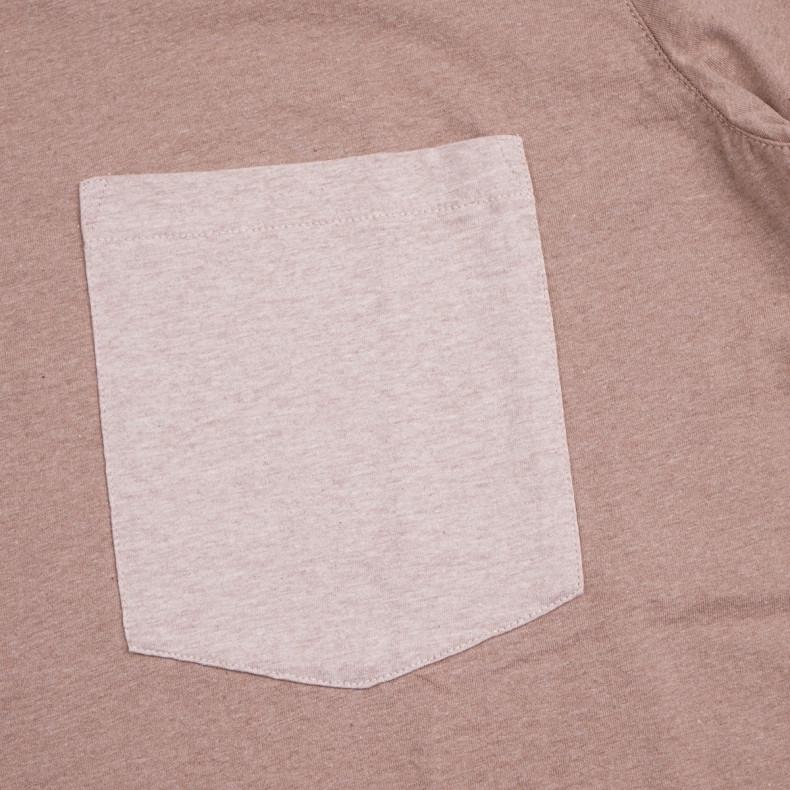 Футболка Universal Works Big Pocket Tee Sand Marl Jersey