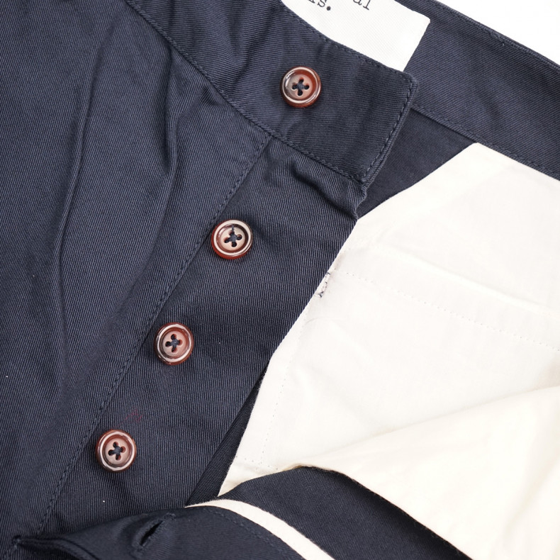 Шорты Universal Works Deck Short Twill Navy