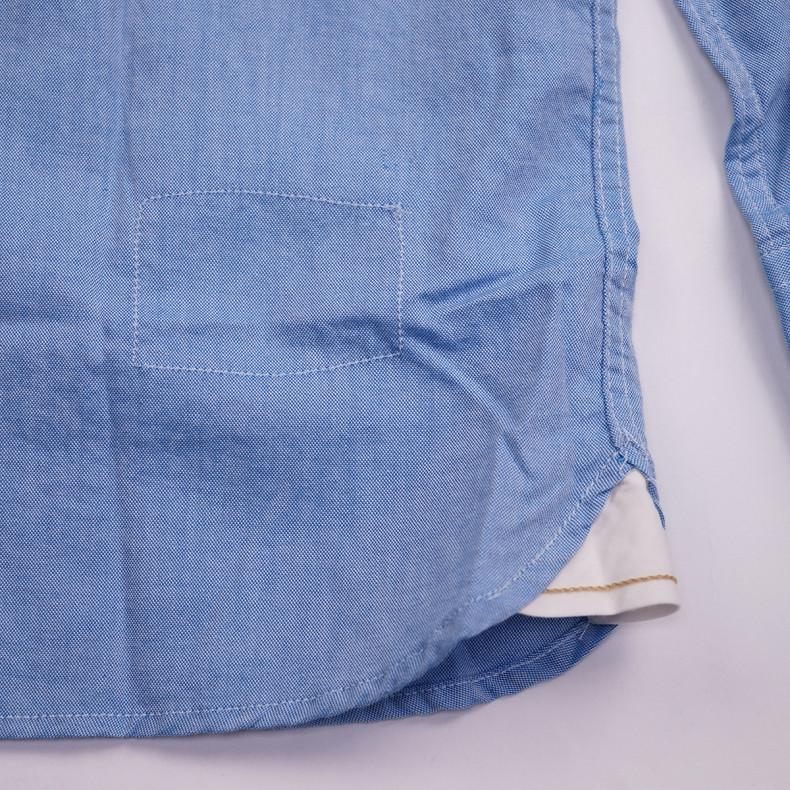 Рубашка Universal Works Everyday Shirt Blue Organic Oxford