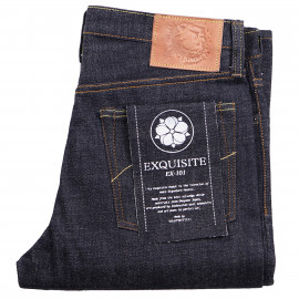 Джинсы WarpWeft Company EX-101 Slim Straight 15oz Kibata Selvedge Extra Low Tension Slub Raw