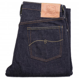 Джинсы WarpWeft Company EX-301 Slim Straight Fit 21 oz Selvedge Indigo Raw