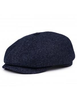 Классическая кепка Zefear Восьмиклинка ZF33802 Platos S - Темно-синий Твид