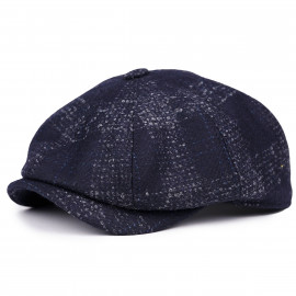 Классическая кепка Zefear Восьмиклинка ZF330N8 Shetland S - Синий Твид