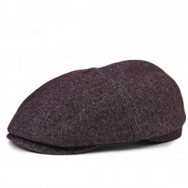 Классическая кепка Zefear Восьмиклинка ZF33802 В6к Коричневый