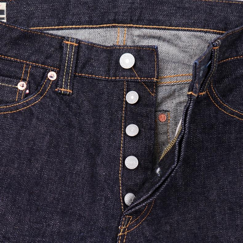 Джинсы Momotaro Jeans 0605-70 Natural Tapered 13.5 Oz