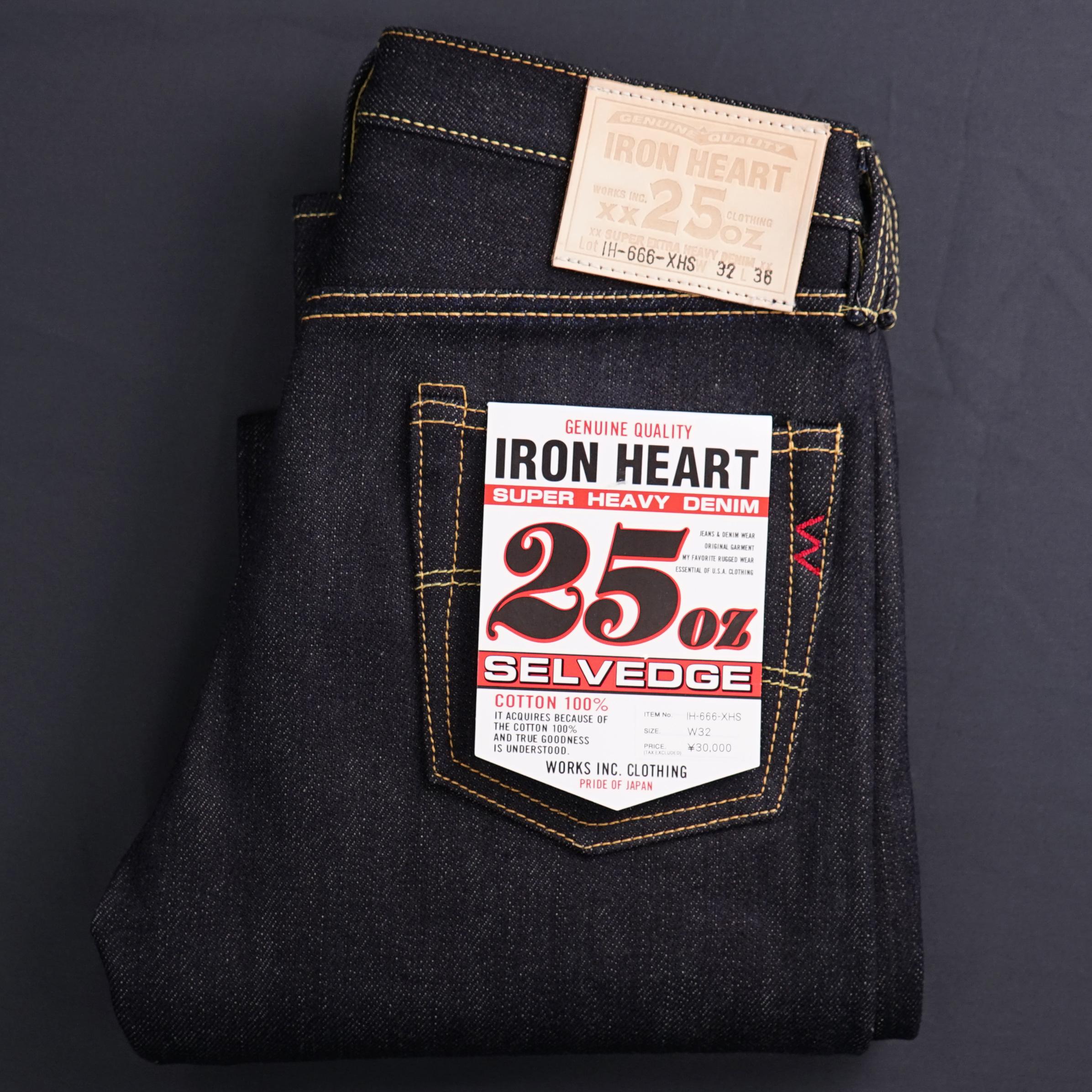Iron Heart IH-666-XHS 25 Oz Selvedge Indigo